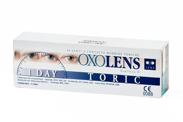 4_OXOLENS 1 DAY TORIC (30 pack)